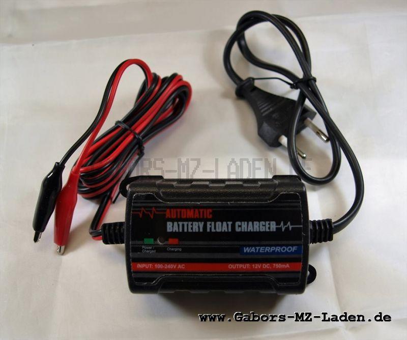 Ladegerät für Batterie 6V -12 Volt
