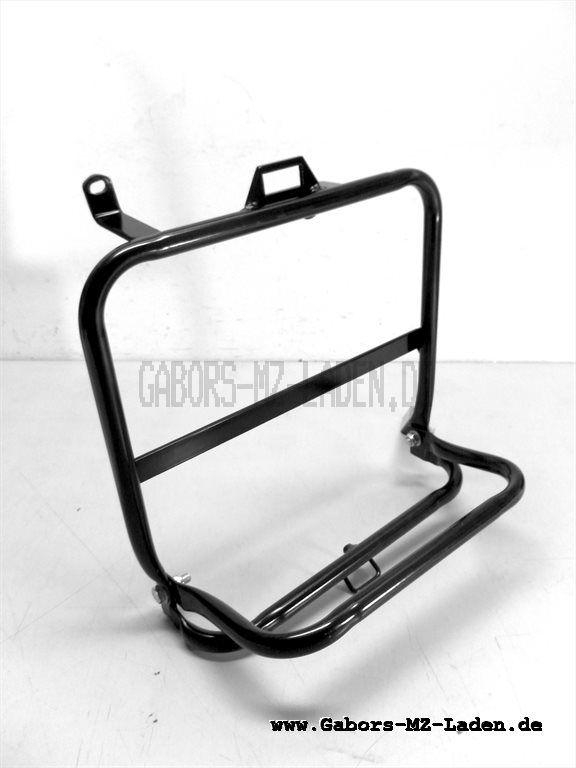 Seitengepäckträger rechts kompl. - schwarz pulverbeschichtet - SR50, SR80