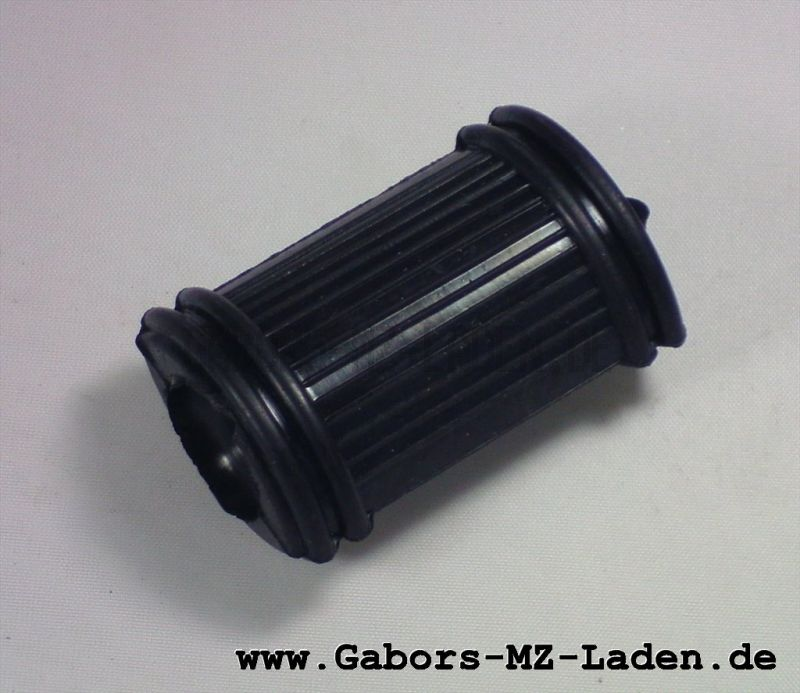 Fußschaltgummi, Muffe B DIN 73483, schwarz