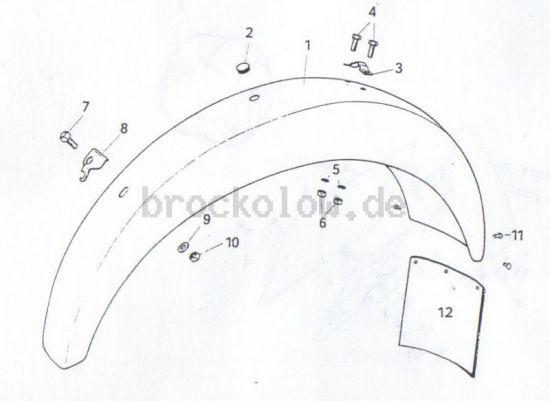 2.16.  Hinterradkotflügel