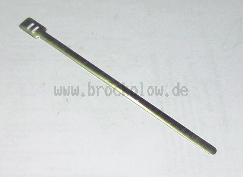 Befestigungsband/Kabelbinder Aluminium 180mm lang, 6mm breit, 0,5mm dick