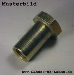 Hülsenmutter, Schaftlänge ca.: 29mm