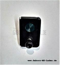 Kontrollarmatur / Schalter mit grüner Kontrolleuchte - Einschaltung Nebelscheinwerfer Trabant Wartburg