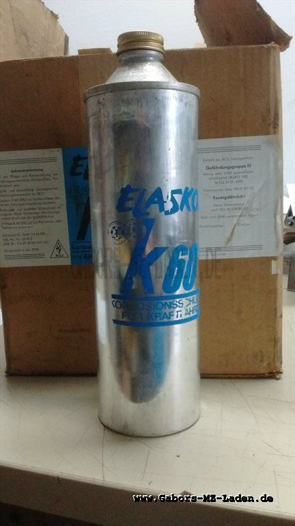 Elaskon K60 ML RDA stock remanente