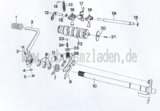 4.07 Getriebe- Schalteinrichtung
