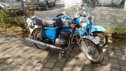 MZ TS 150 blau