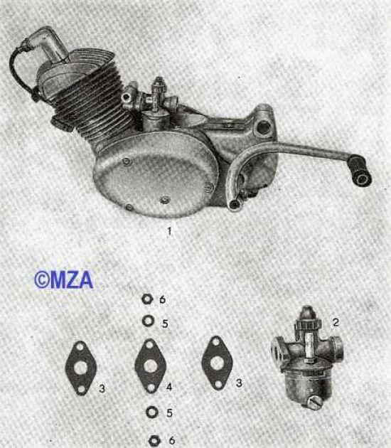 12. Motor, Vergaser