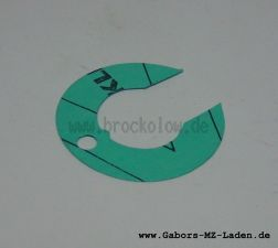 Dichtung für Einsatzstück AWO/S, ES, IWL 24-27mm