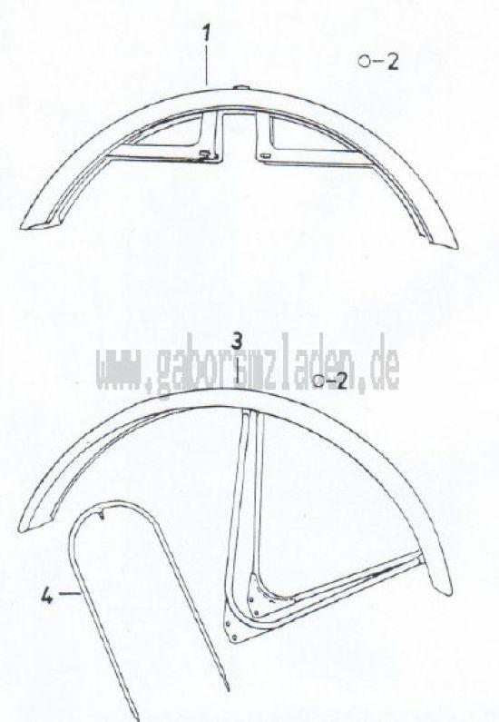10 Vorderradkotflügel