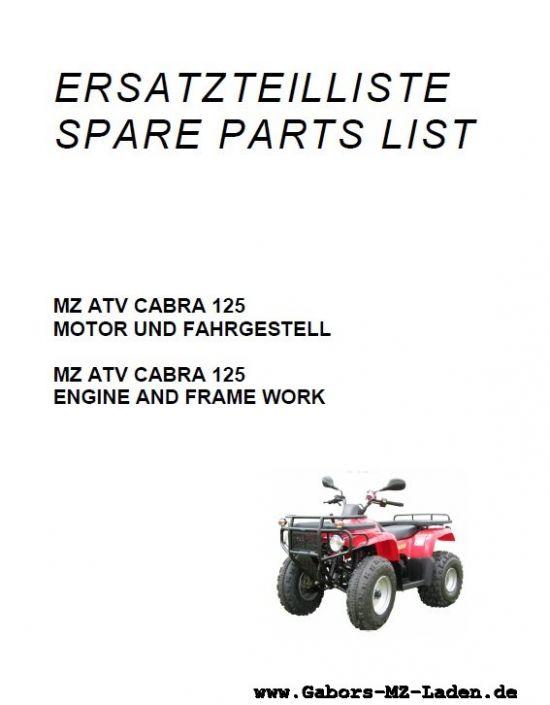 ATV Cabra 125N