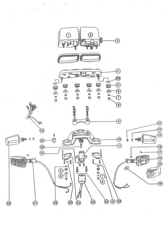 Teile für die Ausführung mit neuen Instrumenten