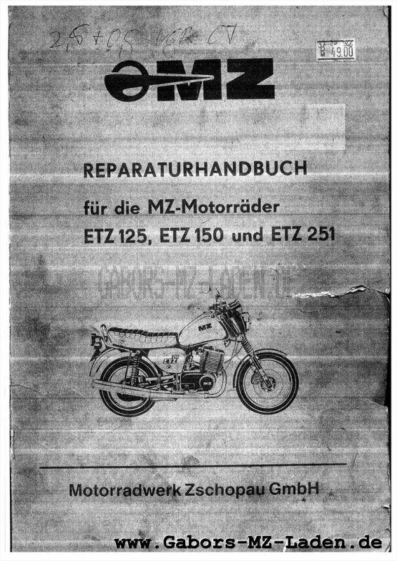 MZ ETZ 125, 150, 251