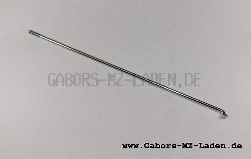 Speiche M4x220mm, 112° - unverchromt, pass. für AWO 425T, EMW