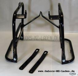 Seitengepäckträger Satz TS 250, TS 250/1 passend für Pneumant Koffer, Klappbar mit Schraubensatz
