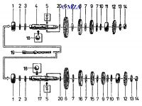 05 Getriebe, Abtriebswelle