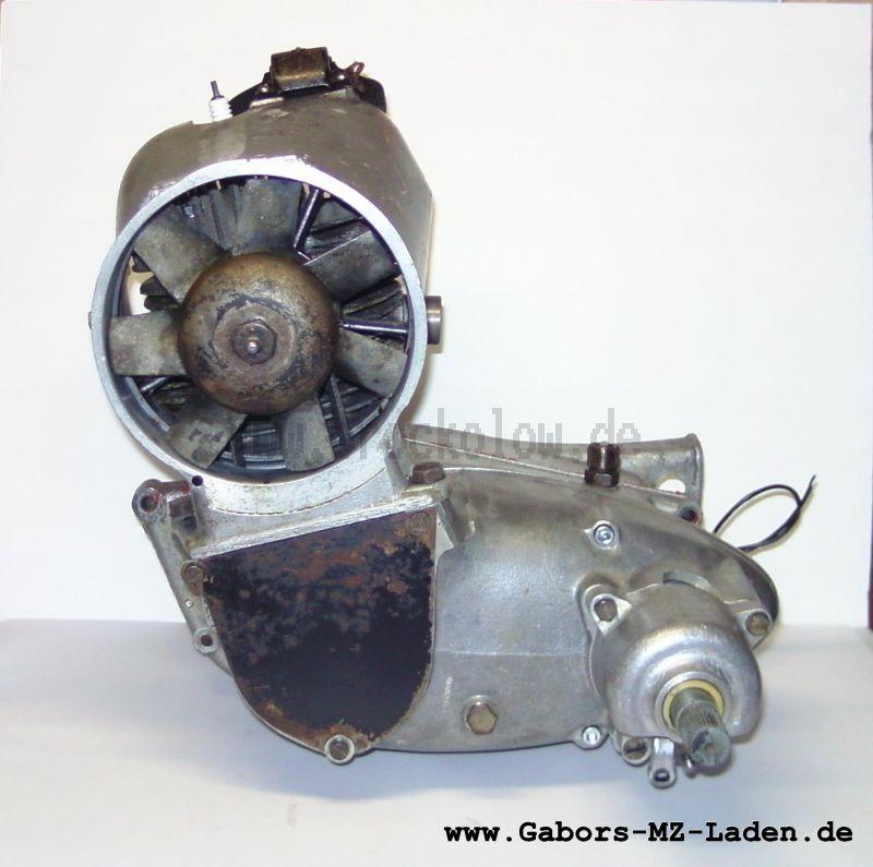 Motor IWL SR56 Wiesel regeneriert ohne Austausch, mit O-Ring im Kupplungsdeckel