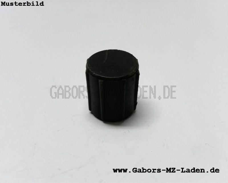 Filterhahntopf f. Benzinhahn - schwarz - Zylinderform