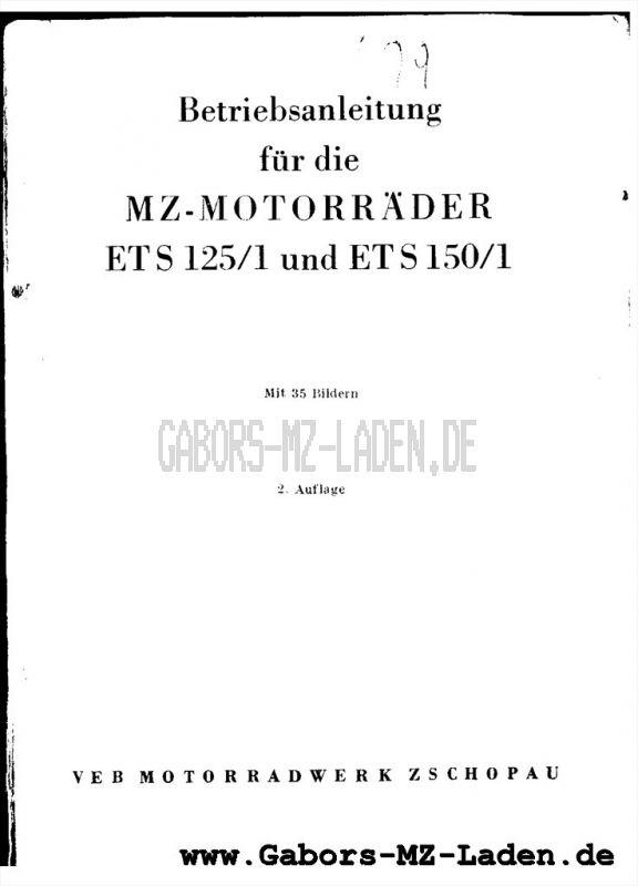 MZ ETS 125/1, 150/1