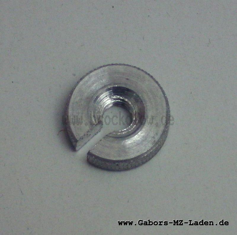 Rändelmutter M6x1 f. Stellschraube