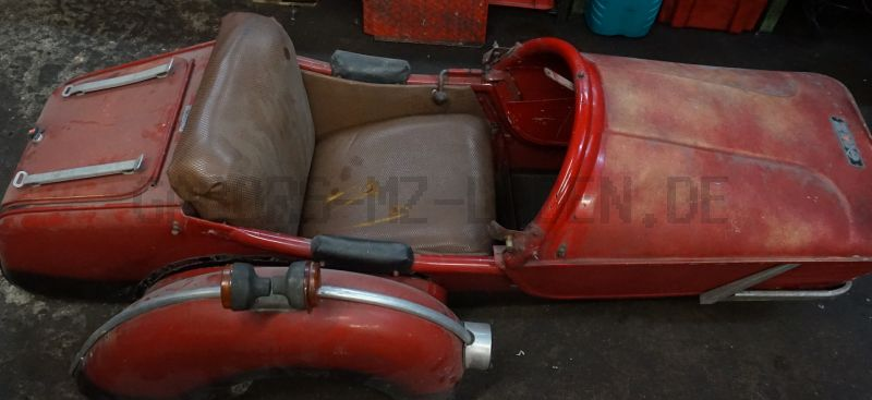 Side car Superelastik para TS 250/1