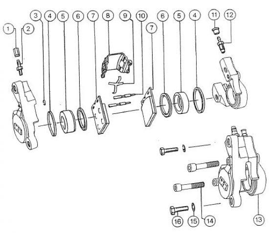 2.09 Fahrgestell - Bremssattel