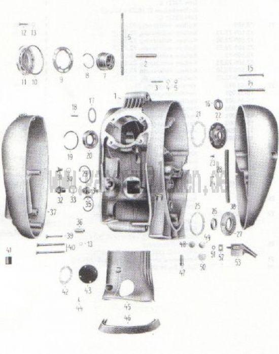 02. Gehäuse (ab Motornr.2108260/4005103)