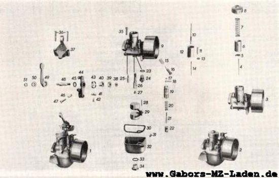 05/2 Vergaser 16NS1-2