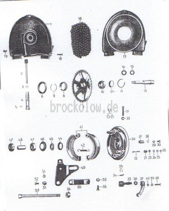 17. Hinterradantrieb, Radnabe hinten ab Fg.-Nr.5002389