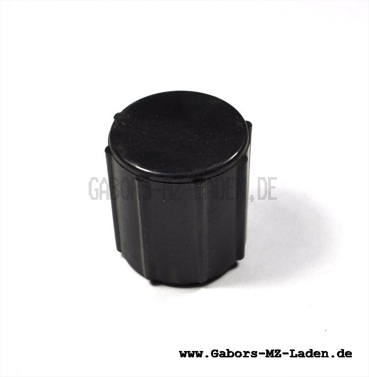 Filterhahntopf f. Benzinhahn - schwarz- Zylinderform - mit Wassersack