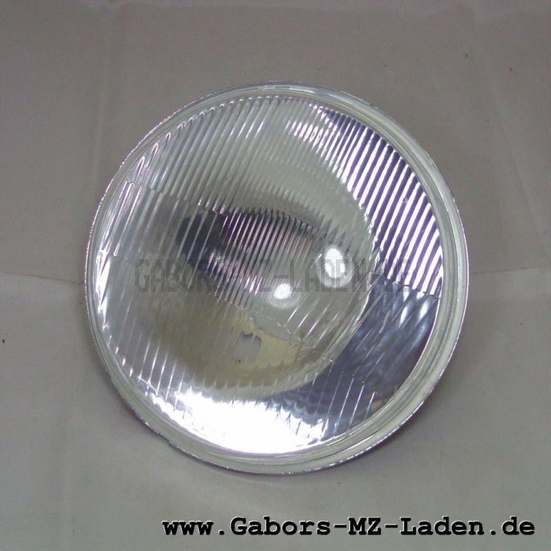 Streuscheibe (Glas) 136  TGL 71-1017 mit Reflektor