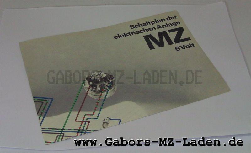 Schaltplan MZ 6V und 12 V