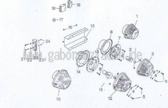 03.1 Vordere Beleuchtung, Kabel, Leitungsverbinder
