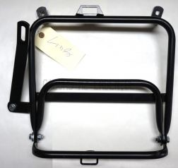 Left luggage rack for side panniers ETZ 250, fits Pneumant suitcases, foldable with screw set left, with screw set