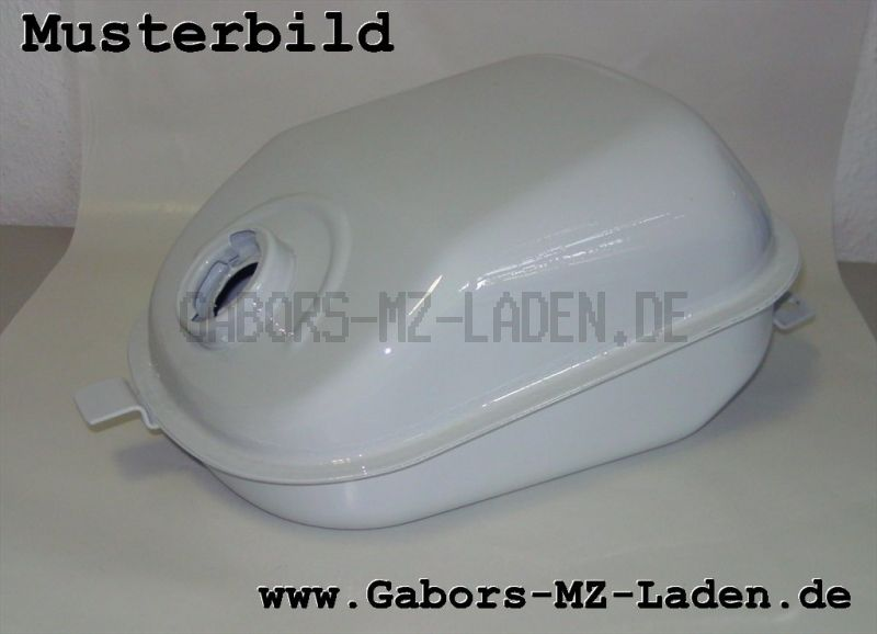 Kraftstoffbehälter (Tank) KR51 SCHWALBE, versiegelt und lackiert im Austausch