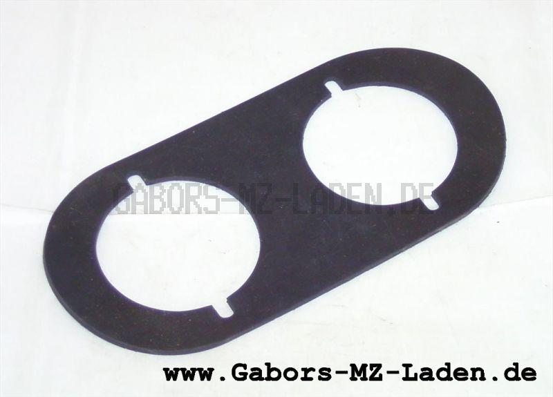 Unterlegplatte für Blink- und Positionsleuchte Seitenwagen