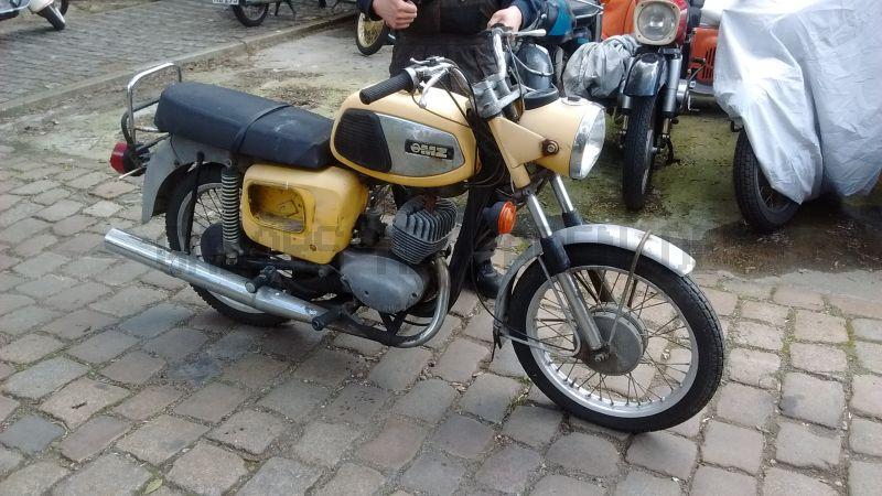 TS 150 gelb matt - Bj 1975 - 32mm Gabel