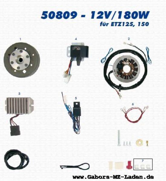 3.6.1 VAPE Lichtmagnetzündanlage 50809 12V/180W