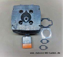 Umbausatz ETZ 300 ccm komplett mit Dichtungen (Zylinder aufgebohrt mit Zentrierring, Kolben, Zylinderkopf. Brennraum geändert)