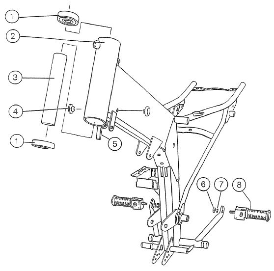 2.01 Fahrgestell Rahmen 1