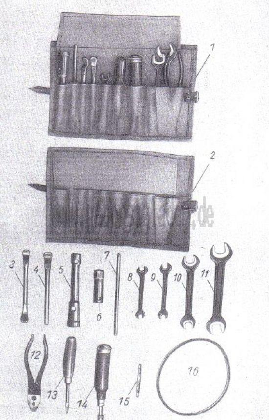 19. Werkzeugsatz