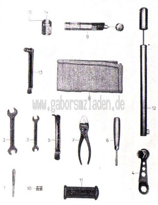 26. Werkzeug und Zubehör