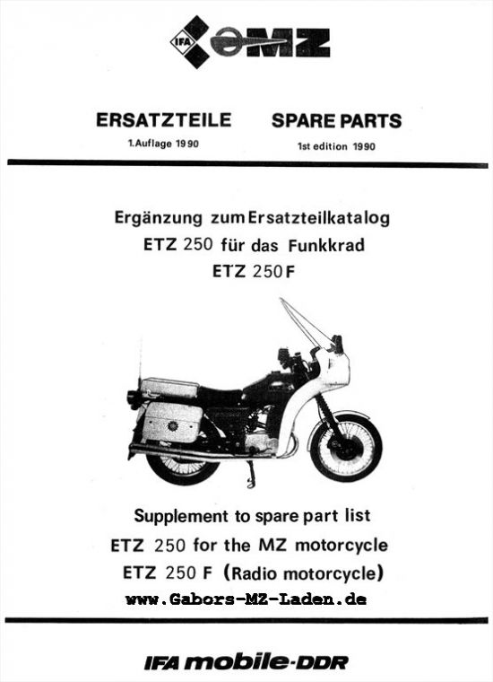 ETZ 250 F