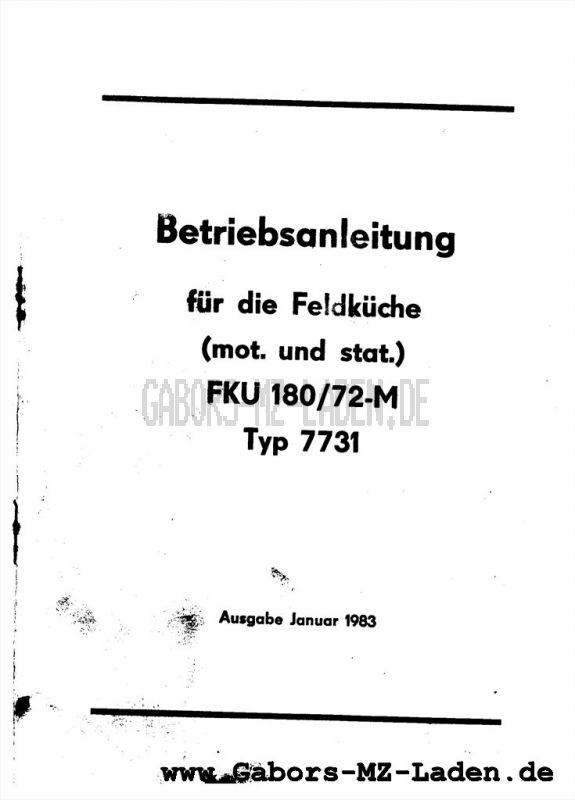 FELDKÜCHE FK Ü 180/72-M Typ 7731
