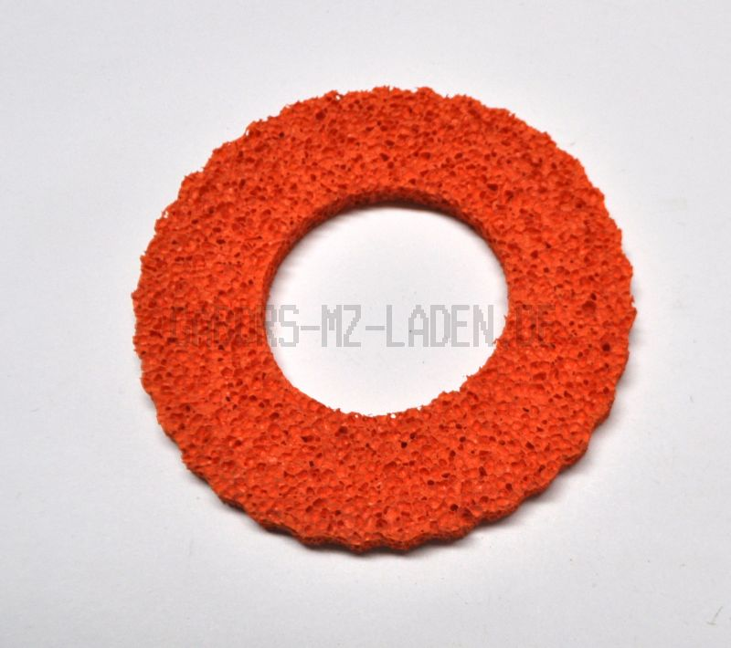 Tankschutzring aus Schaumgummi Orange für 40mm Tankdeckel