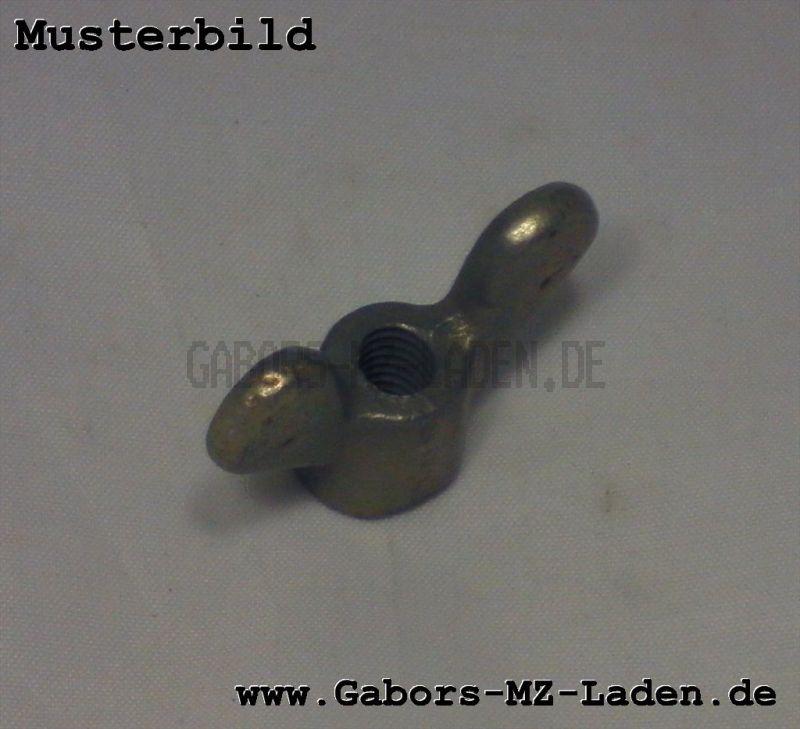 Flügelmutter M6 alte Ausführung für Bremsstange