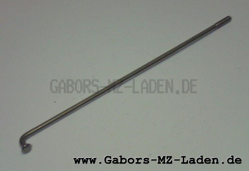 Speiche vernickelt M3,5x143,5 mm für Simson