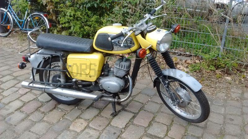 TS 150 gelb glänzend Bj 1975 35mm Gabel