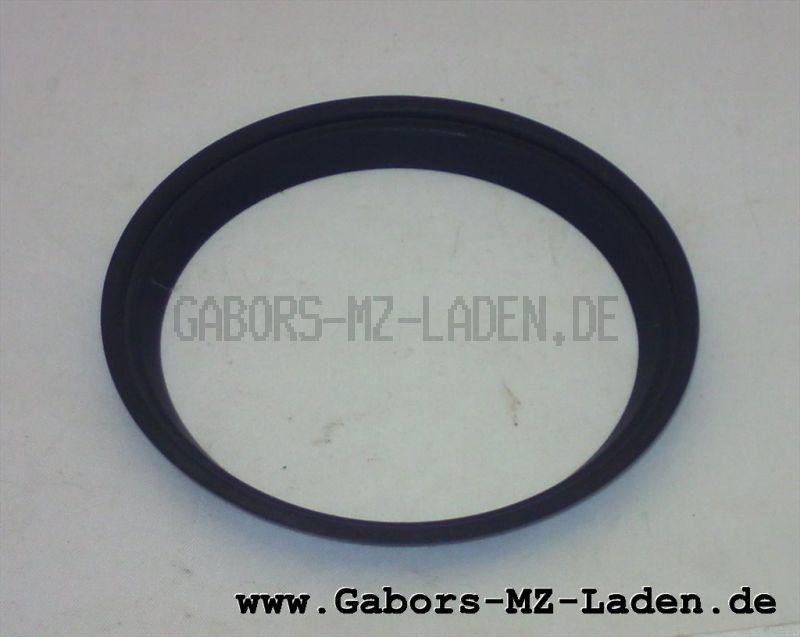 Blendring in schwarz für Tachometer und Drehzahlmesser ETZ, TS, ETS - Ø=80mm