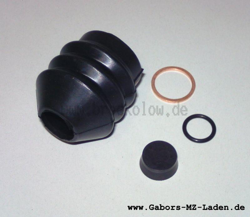Reparatursatz Hauptbremszylinder Seitenwagen (Schutzbalg, Manschette, Dichtring)