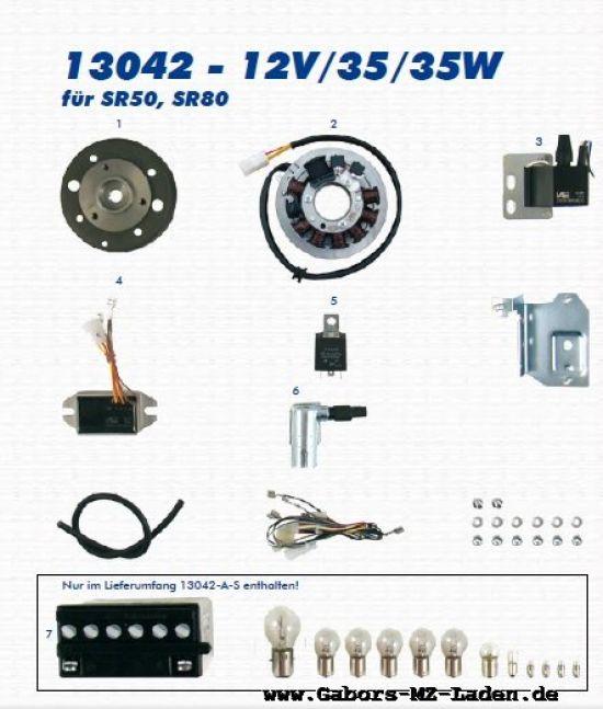 33a. VAPE Lichtmagnetzündanlage 13042 12V35/35W